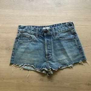 Majorelle | Blue Cutoff Jean Shorts